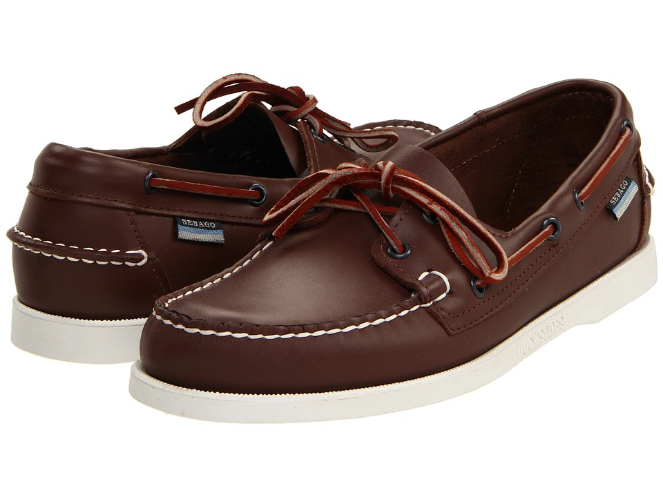 Sebago - Docksides (Brown Elk) Men's Lace up casual Shoes