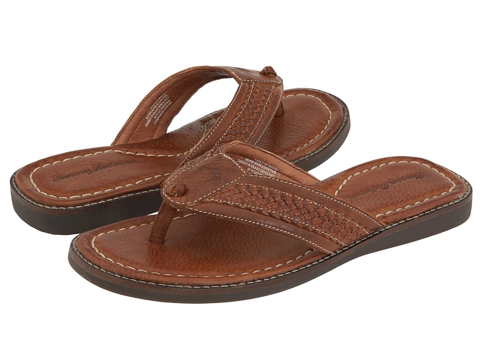 Tommy Bahama Anchors Away (Brown Leather) Men