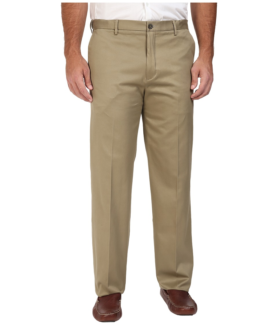 Dockers Big & Tall - Big Tall Signature Khaki D3 Classic Fit Flat Front (Dark Khaki) Men's Casual Pants