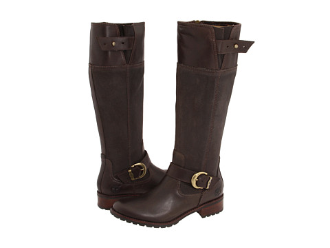 Timberland - Earthkeepers Bethel Buckle Tall Zip (Brown Leather) Women's Boots