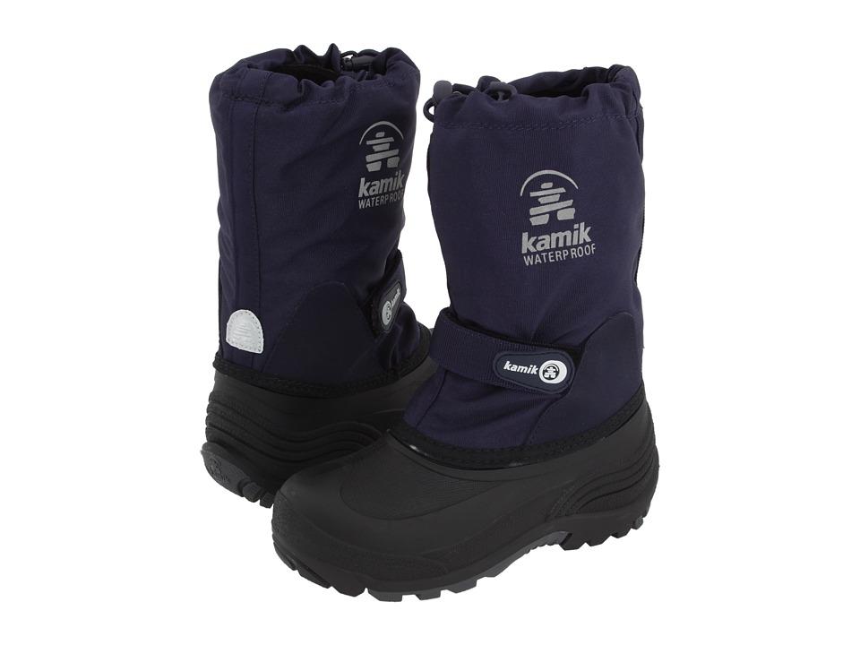 Kamik Kids - Waterbug Wide (Toddler/Little Kid/Big Kid) (Dark Navy) Boys Shoes