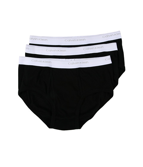 Calvin Klein Underwear - Classics Brief Three-Pack U1000 (Black) Men