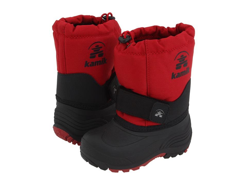 Kamik Kids - Rocket Wide (Toddler/Little Kid/Big Kid) (Red) Boys Shoes