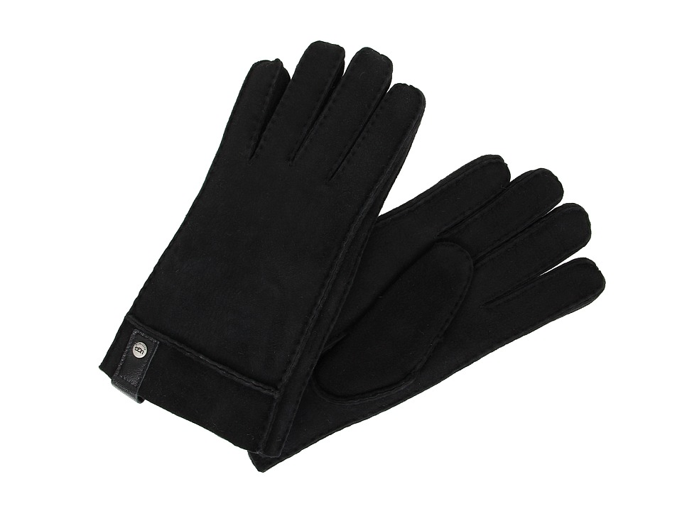 UGG - Sidewall Glove w/Tab (Black) Extreme Cold Weather Gloves