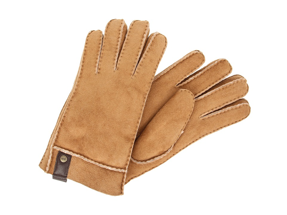 UGG - Sidewall Glove w/Tab (Chestnut) Extreme Cold Weather Gloves
