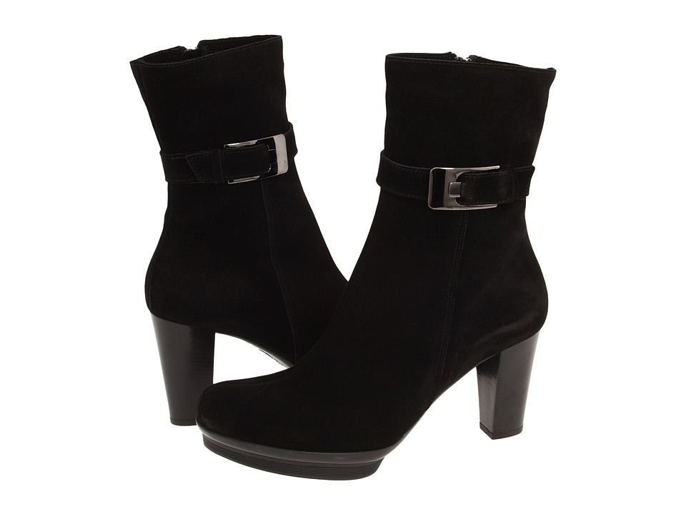La Canadienne - Marlie (Black Suede) Women