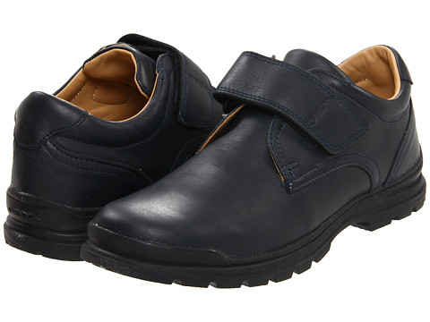 Geox Kids - Junior William (Youth) (Navy) Boys Shoes
