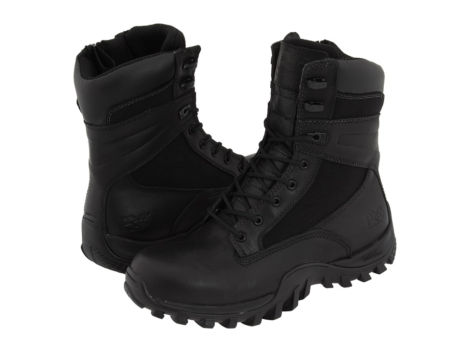 Timberland PRO - Arlington 8 Waterproof (Black) Men's Work Boots
