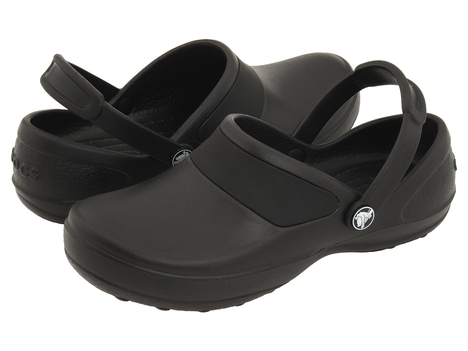 Crocs - Mercy Work (Black/Black) Women's Clog Shoes