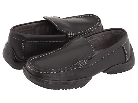 Kenneth Cole Reaction Kids - Driving Dime 2 (Toddler/Little Kid) (Black Leather) Boy