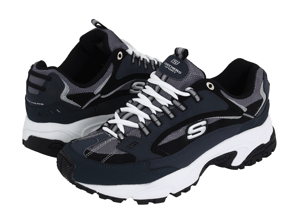 SKECHERS - Stamina - Nuovo (Navy/Black) Men's Shoes