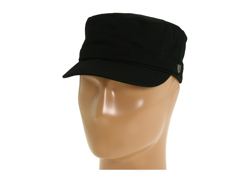 Brixton - Busker (Black) Traditional Hats