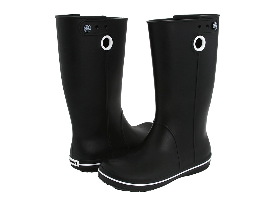 Crocs - Crocband Jaunt (Black) Women's Rain Boots