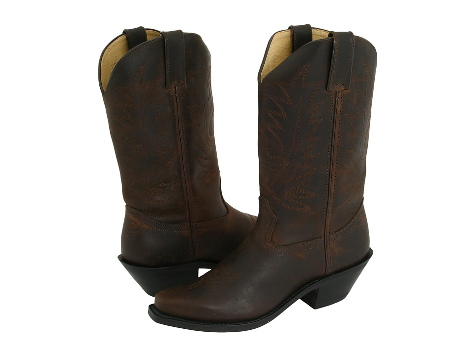 Durango - Cowgirl 11 Pull On (Brown) Cowboy Boots