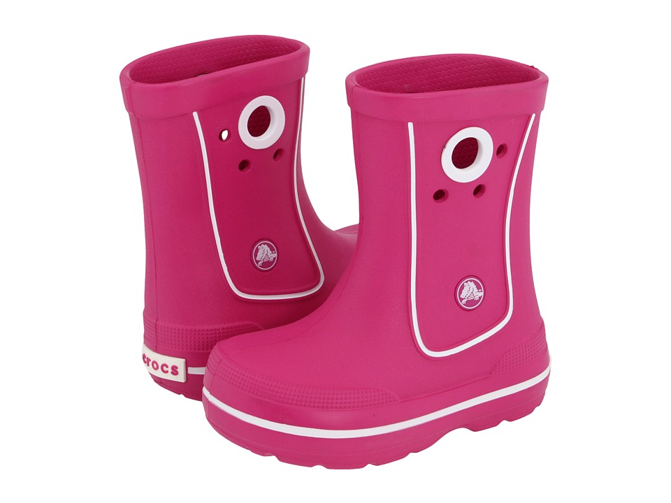 Crocs Kids - Crocband Jaunt (Toddler/Little Kid) (Fuchsia) Kids Shoes