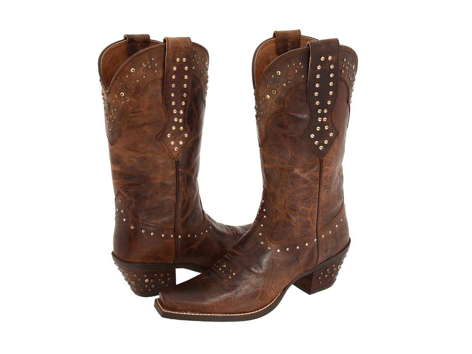 Ariat - Rhinestone Cowgirl (Sassy Brown) Cowboy Boots