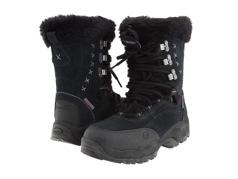 Hi-Tec - St. Moritz 200 WP (Black/Clover) Women's Cold Weather Boots