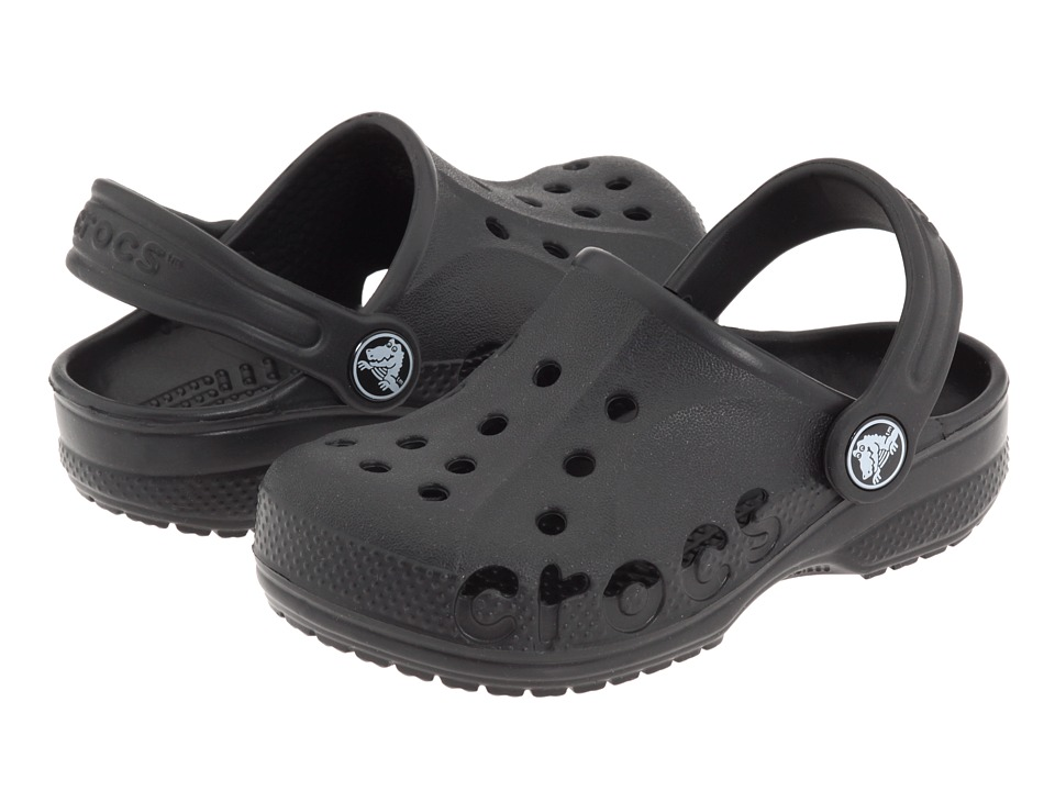 Crocs Kids - Baya (Toddler/Little Kid) (Black) Kids Shoes