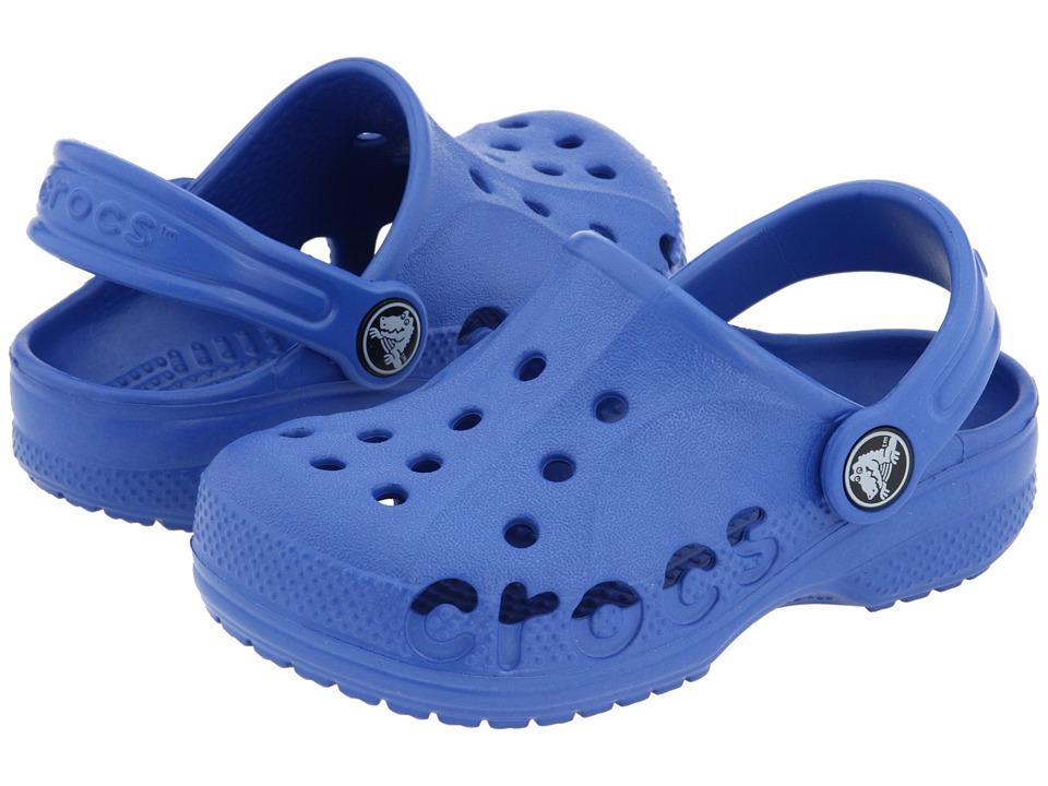 Crocs Kids - Baya (Toddler/Little Kid) (Sea Blue) Kids Shoes