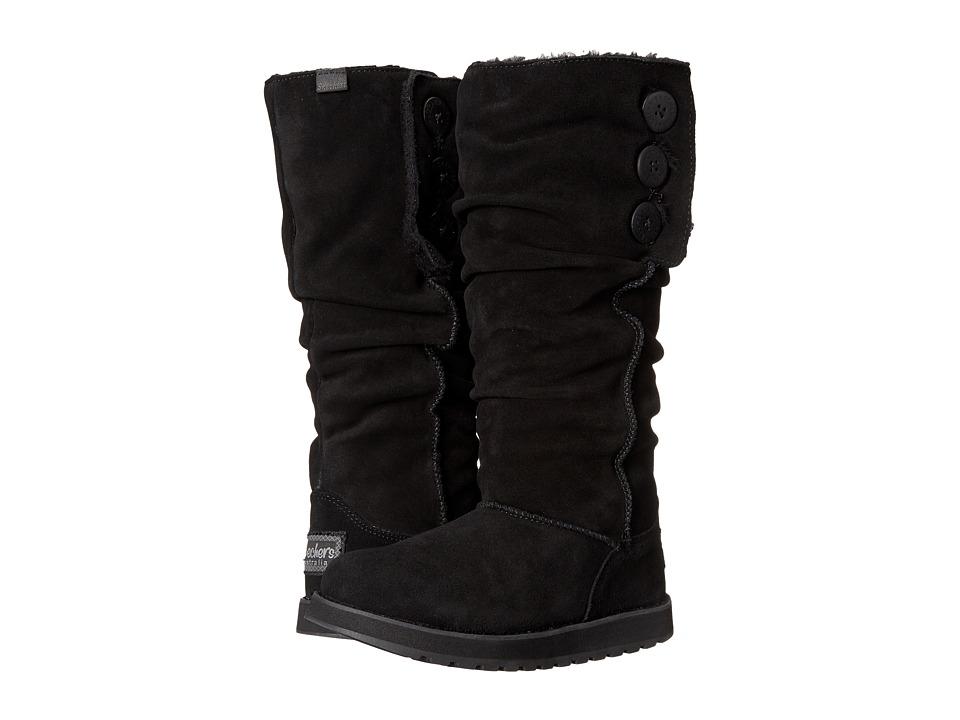 SKECHERS - Keepsake - Brrrr (Black) Women's Pull-on Boots