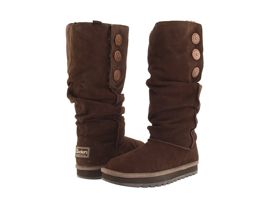 SKECHERS - Keepsake - Brrrr (Chocolate) Women's Pull-on Boots