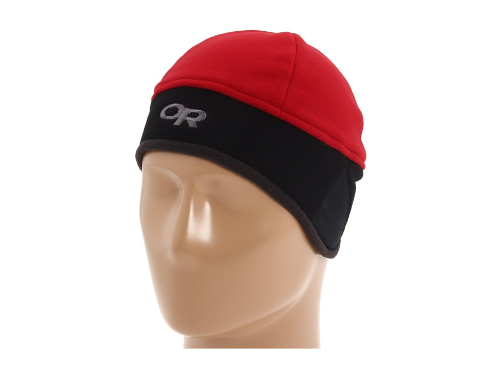 Outdoor Research - Wind Warrior Hat (Retro Red/Black) Cold Weather Hats