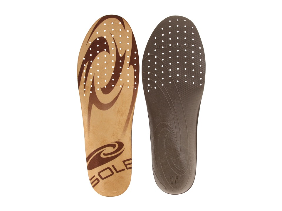 SOLE - Thin Casual (Brown/Brown) Insoles Accessories Shoes