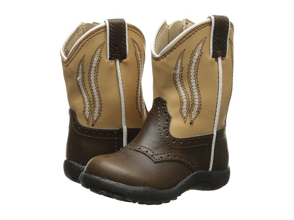 Roper Kids Chunklets (Infant/Toddler) (Tan/Brown) Cowboy Boots