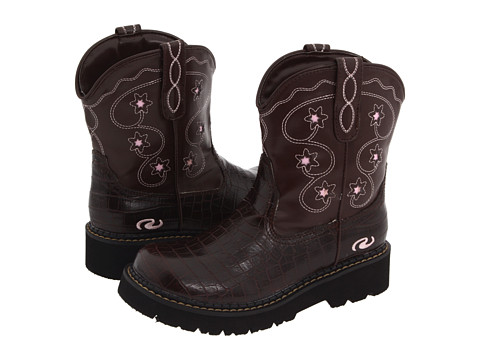 Roper Kids - Chunks (Toddler/Little Kid) (Brown/Brown) Cowboy Boots