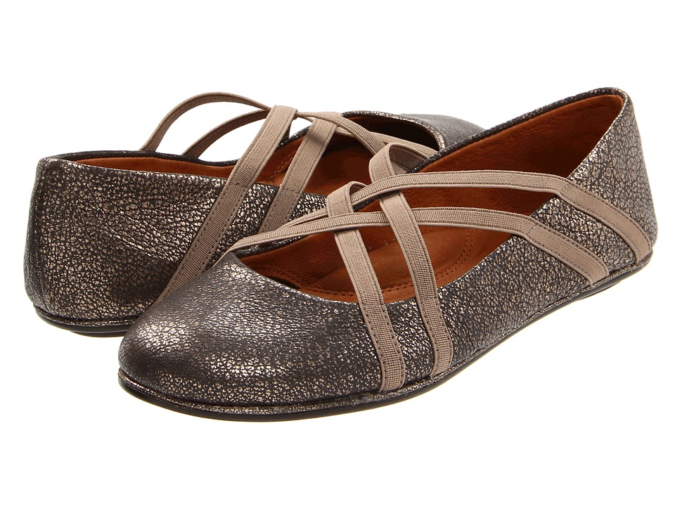 Gentle Souls - Bay Braid (Antique Pewter) Women's Flat Shoes