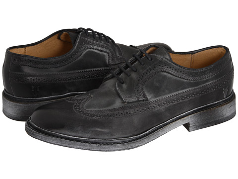 Frye - James Wingtip (Black) Women