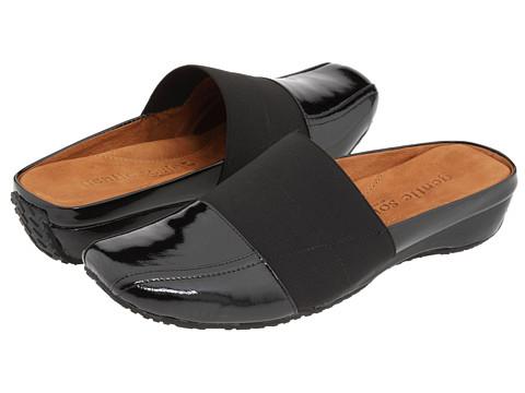 Gentle Souls - Iso Mule (Black Patent) Women's Clog/Mule Shoes