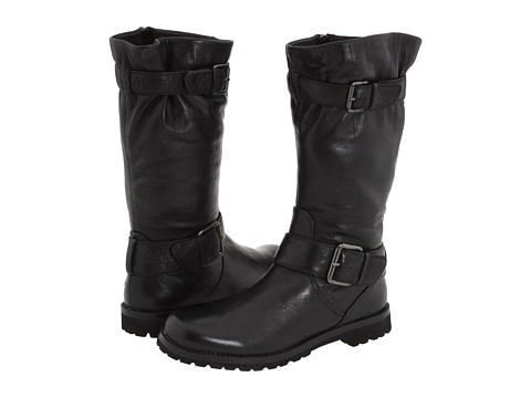 Gentle Souls - Buckled Up (Black) Women's Dress Zip Boots