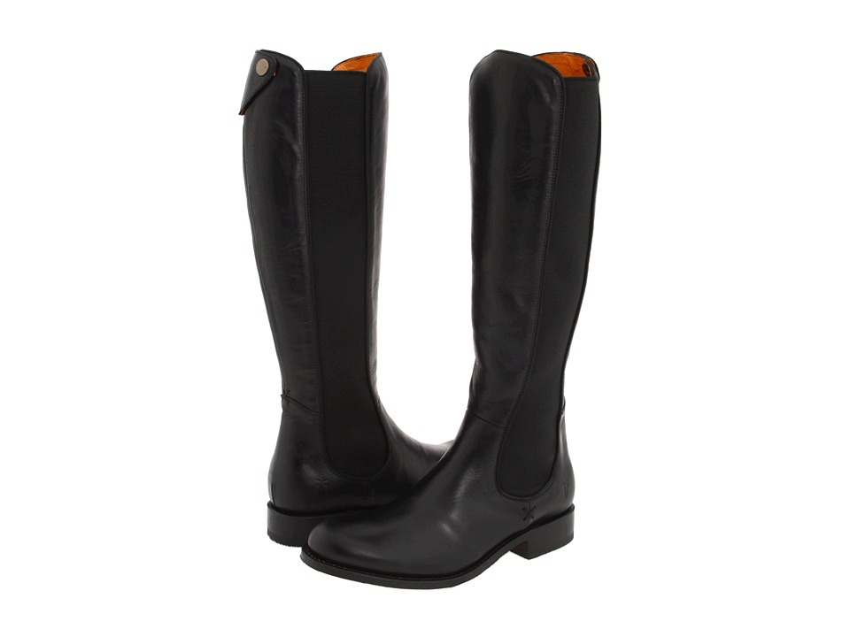 Frye - Riding Chelsea (Black) Women's Pull-on Boots