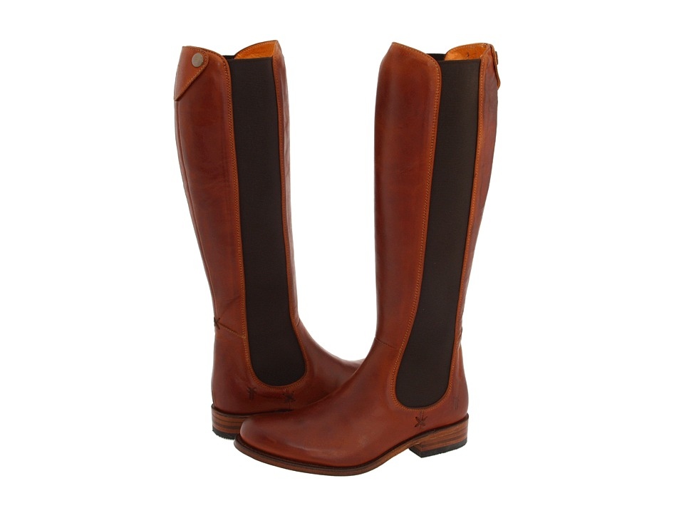 Frye - Riding Chelsea (Cognac) Women's Pull-on Boots