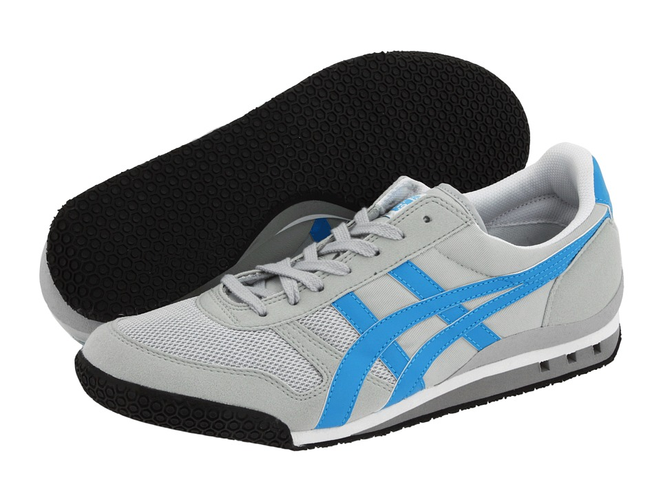 Onitsuka Tiger by Asics - Ultimate 81 (EXCLUSIVE! Grey/Royal) Classic Shoes