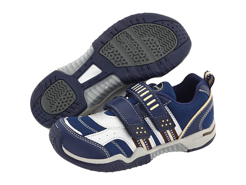 Tsukihoshi Kids - Denali (Toddler/Little Kid) (Navy/Silver) Boys Shoes