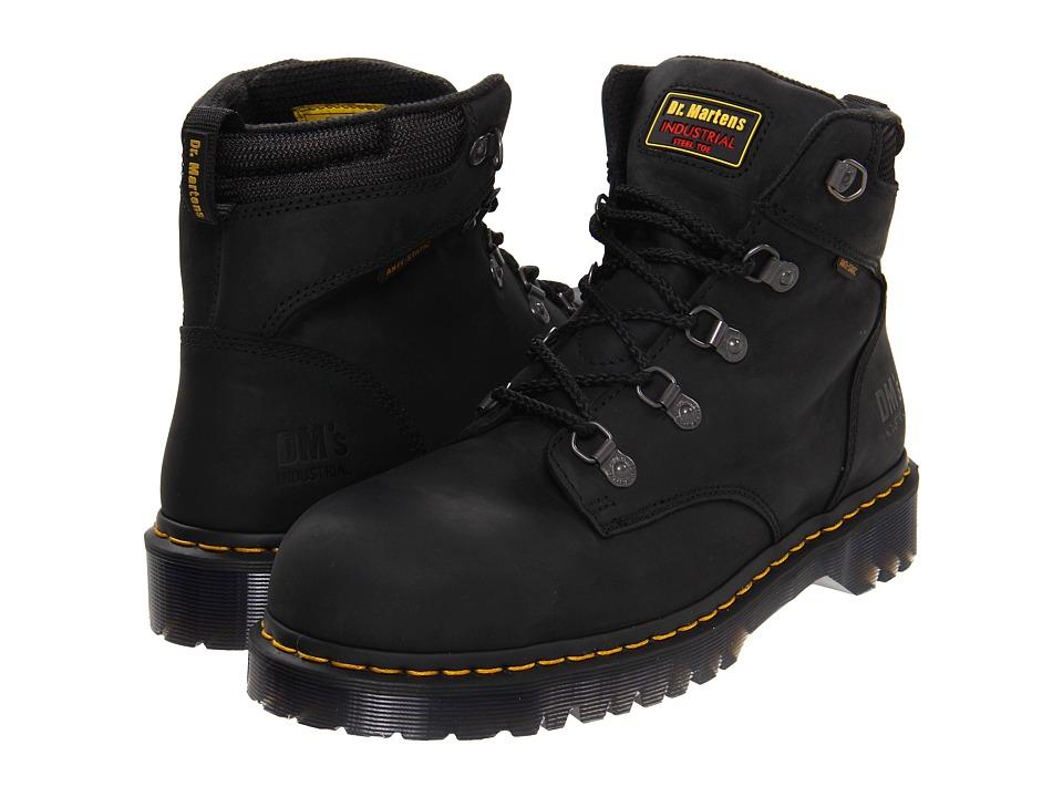 Dr. Martens Work - Holkham SD (Black Industrial Greasy) Men's Industrial Shoes