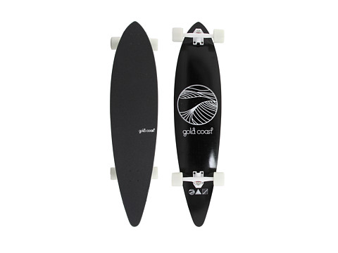 Gold Coast - The Classic (Black) Skateboards Sports Equipment