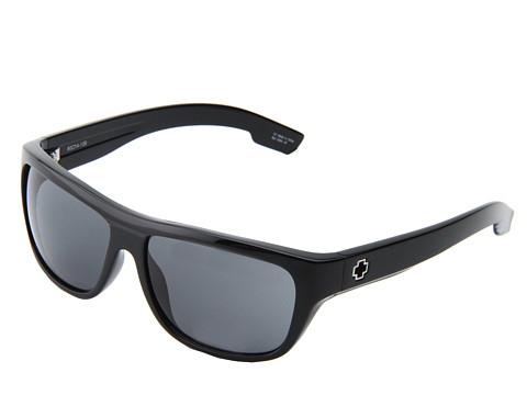 Spy Optic - Lennox (Shiny Black/Grey Lens) Fashion Sunglasses