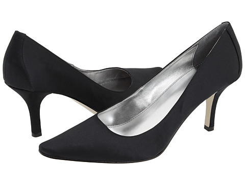Calvin Klein - Dolly (Black Satin) High Heels