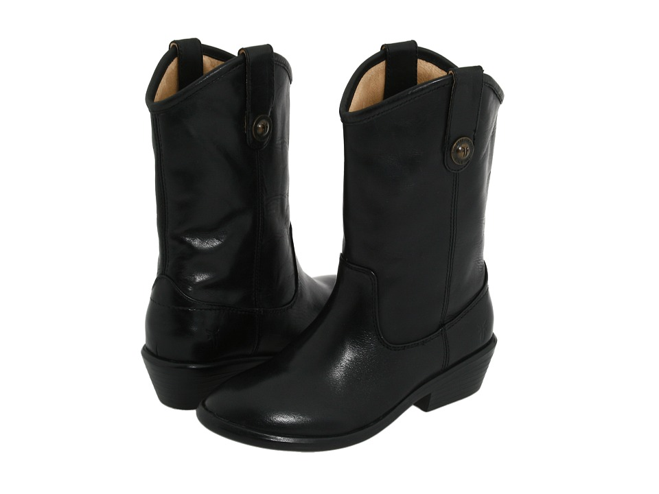 Frye Kids - Melissa Button (Toddler/Little Kid/Big Kid) (Black) Girls Shoes