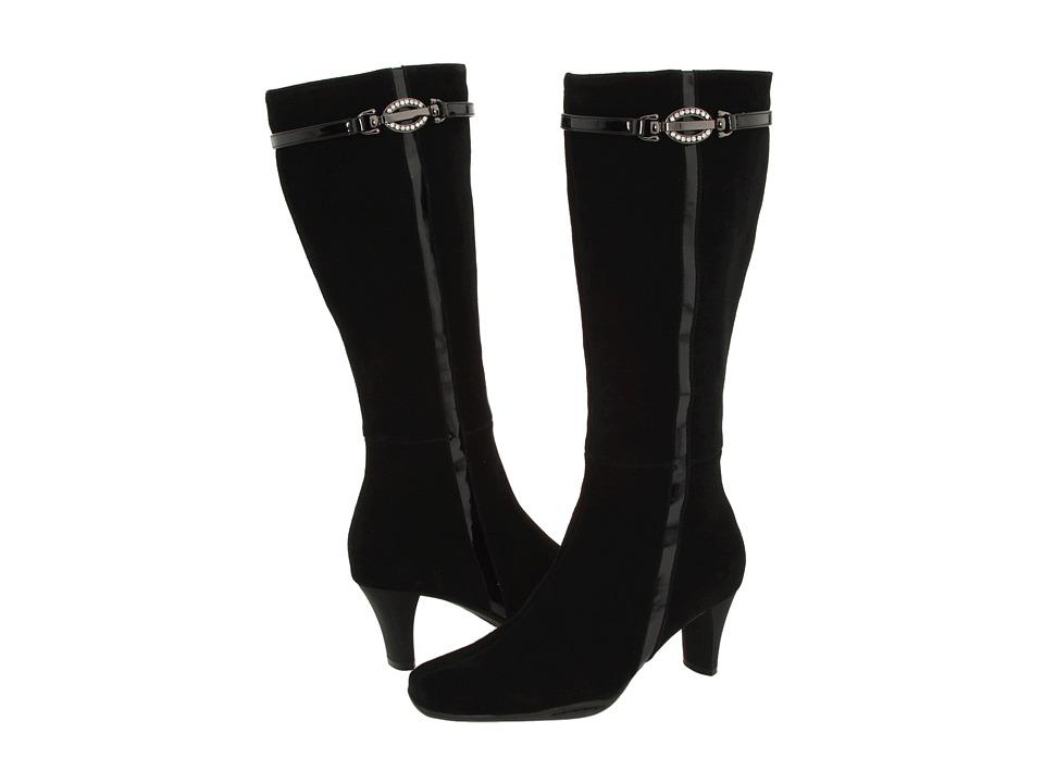 Santana - Belinda (Black Suede) Women's Waterproof Boots