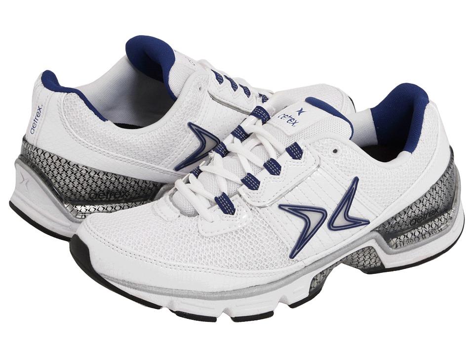 Aetrex - Xspress (White/Navy) Women's Running Shoes
