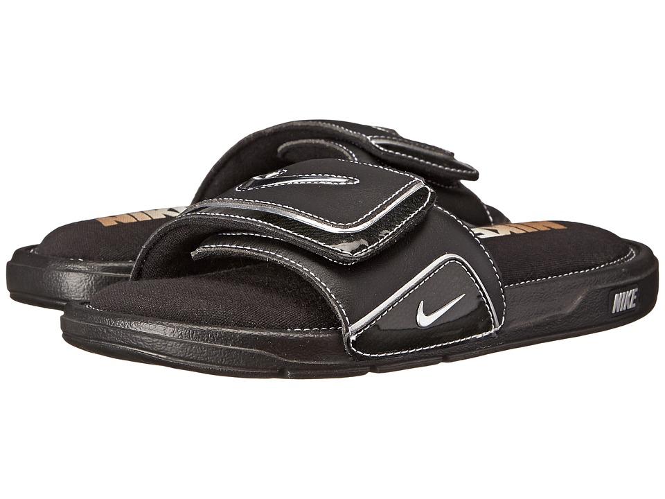 287a5f937 ... UPC 826220526027 product image for Nike - Comfort Slide 2 (Black Metallic  Silver