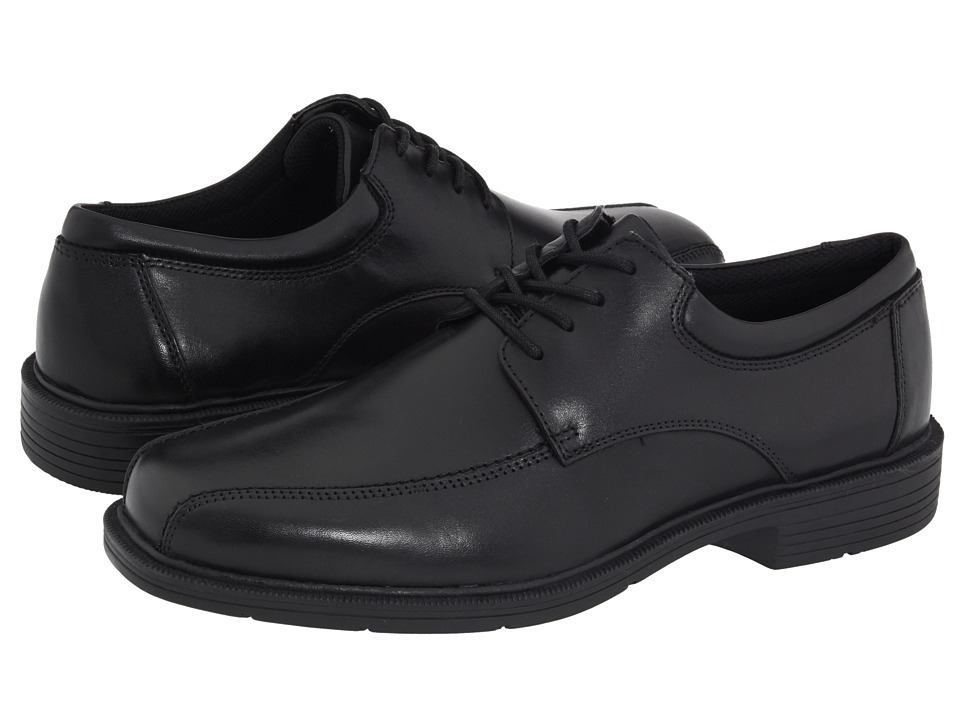 Nunn Bush Jasen Bicycle Toe Comfort Oxford (Black Leather) Men
