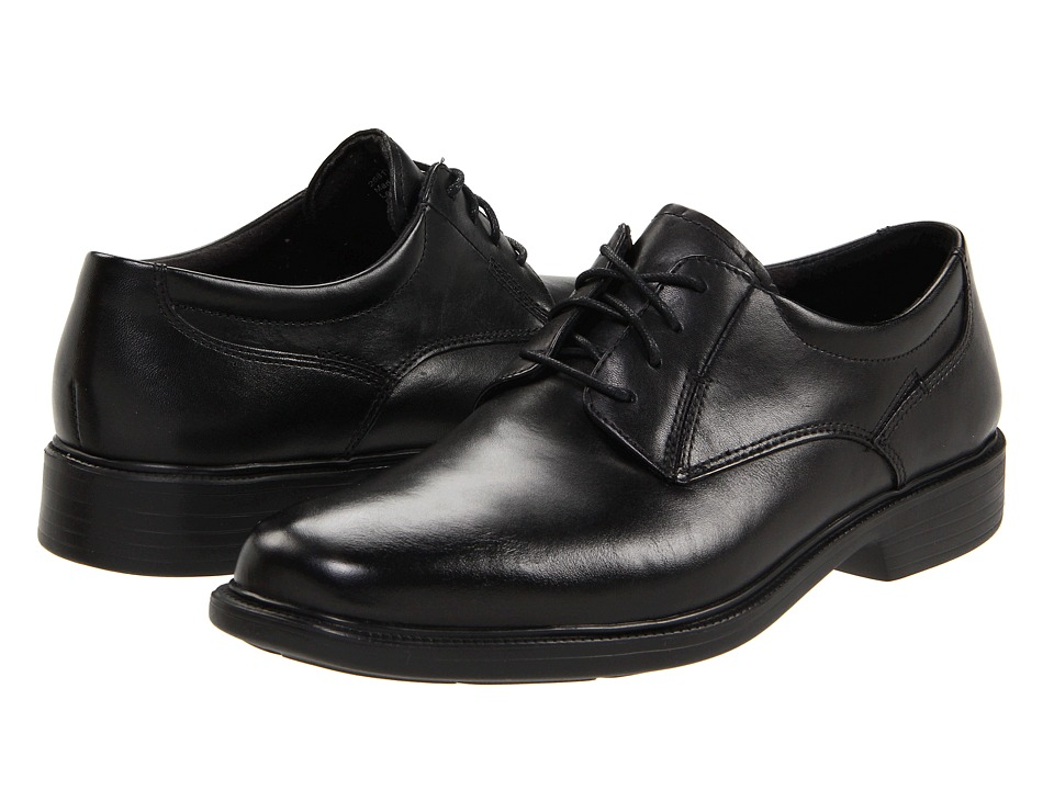 Bostonian Wendell (Black Smooth Leather) Men