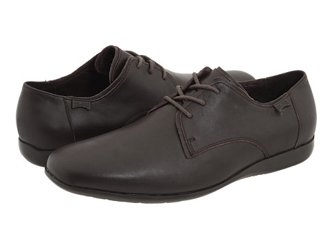 Camper - Mauro - 18222 (Brown Leather) Men's Lace up casual Shoes