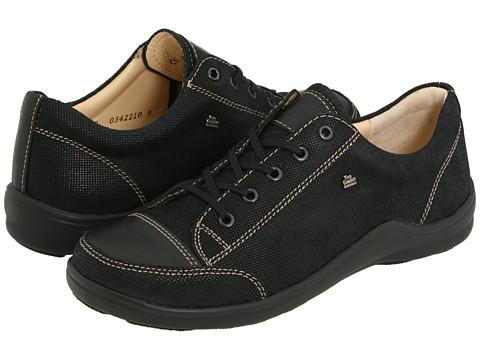 Finn Comfort - Soho - 82743 (Black Points Leather) Women