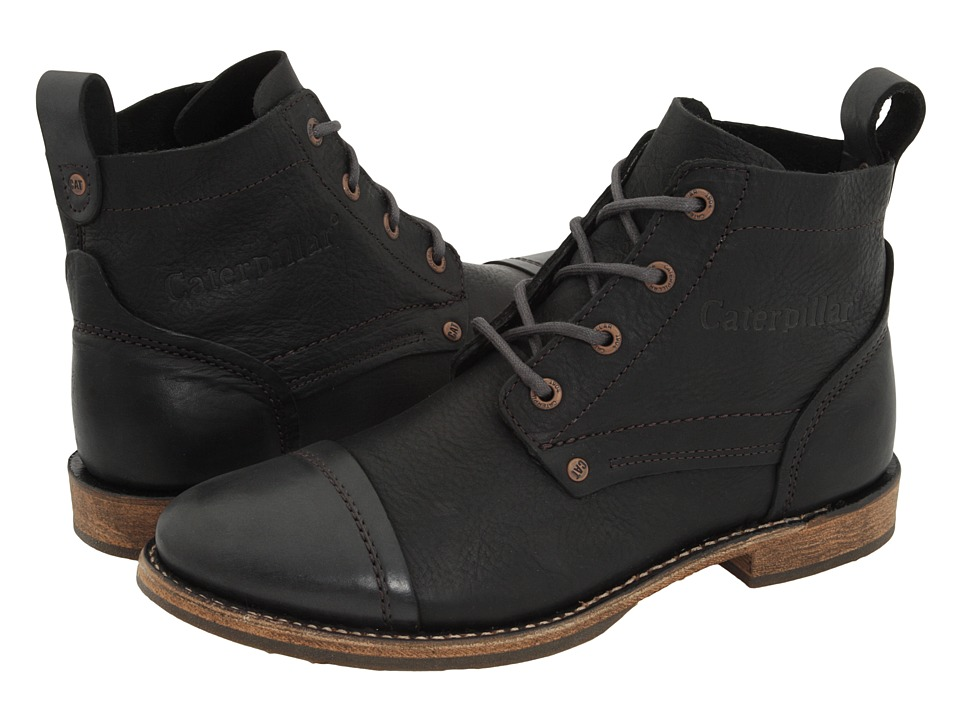 Caterpillar - Morrison (Black) Men's Lace-up Boots